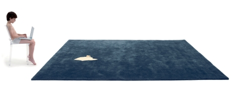 Global Warming rug by NEL Collective for nanimarquina. Image courtesy of nanimarquina.